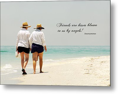 Metal Print featuring the photograph Friends by Rosemary Aubut