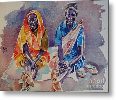 Friendship  Metal Print by Mohamed Fadul