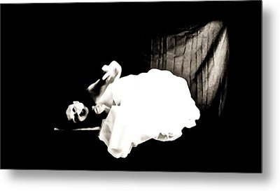 Frightened By The Light Metal Print by Jessica Shelton