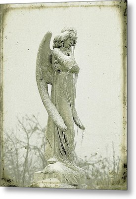 Frigid Angel Metal Print by Gothicrow Images