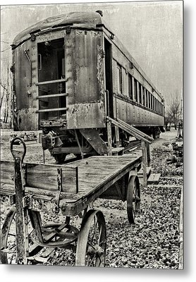 Metal Print featuring the photograph Frisco by Lana Trussell