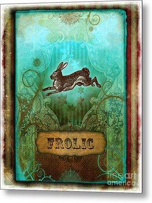 Frolic Metal Print by Aimee Stewart
