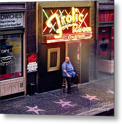 Frolic Room.hollywood Blvd Metal Print by Jennie Breeze