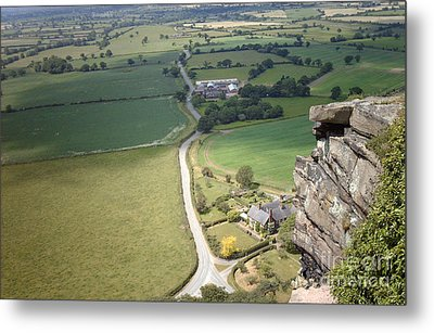 From Beeston Castle Cheshire England Metal Print