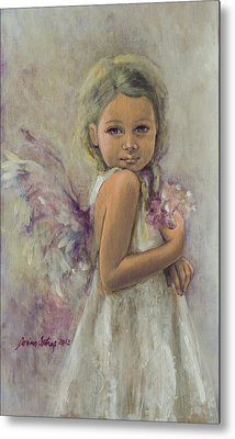 From Heaven... Metal Print by Dorina  Costras