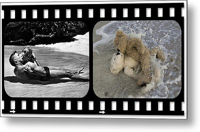 From Here To Eternity Film Strip Metal Print by William Patrick