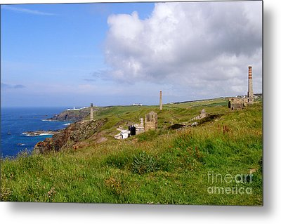 From Levant To Pendeen Cornwall Metal Print by Terri Waters