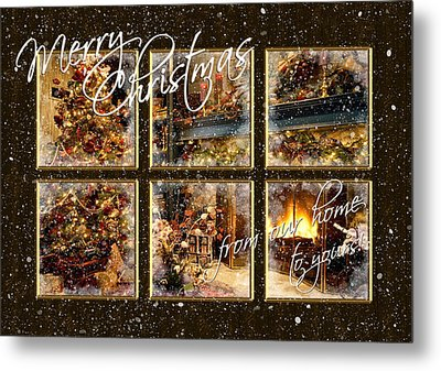 From Our Home To Yours Metal Print