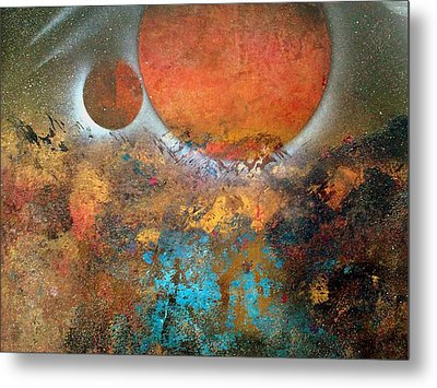 From Planet's View Metal Print