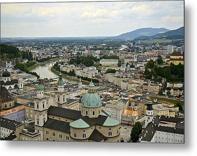 From Salzburg Castle Metal Print by Marty  Cobcroft