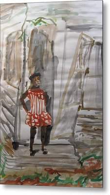 From Slavery To Penury Metal Print by Esther Newman-Cohen