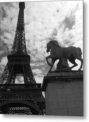 Metal Print featuring the photograph From The Bridge by Lisa Parrish