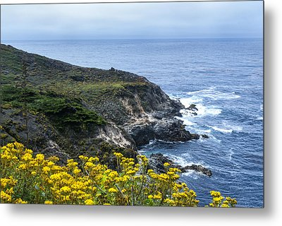 From The Cliffs Above Metal Print by Anthony Citro