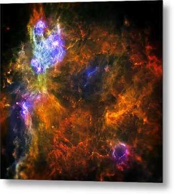 From The Darkness Metal Print by Jennifer Rondinelli Reilly - Fine Art Photography