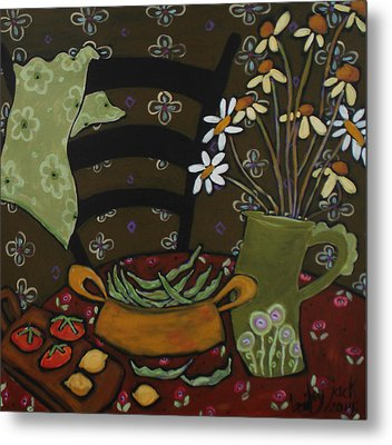 From The Garden Metal Print by Bailey Jack