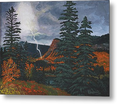 From The Heavens To Earth Metal Print by Timithy L Gordon