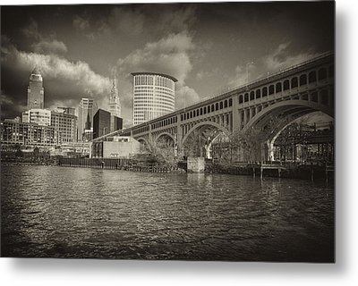 Metal Print featuring the photograph From The River Bank by Brent Durken