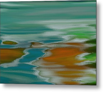 From The River To The Sea Metal Print