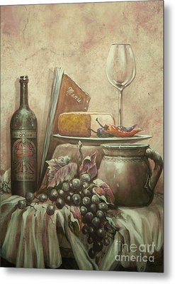 From The Vine Metal Print by Martin Lacasse