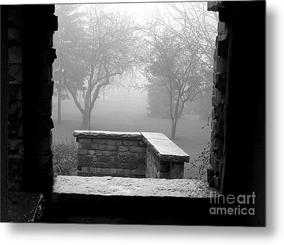 From The Window Metal Print