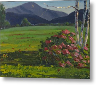 Metal Print featuring the painting Front And Back by Len Stomski
