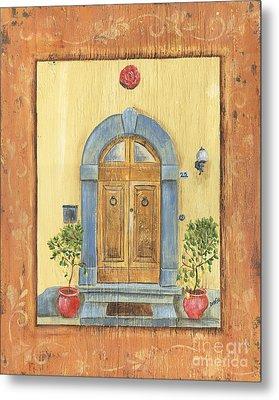 Front Door 1 Metal Print by Debbie DeWitt