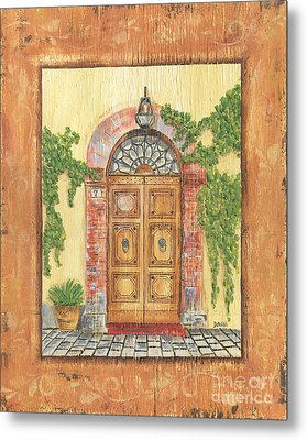 Front Door 2 Metal Print by Debbie DeWitt