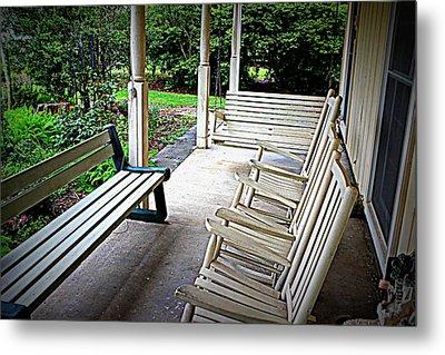 Front Porch Metal Print by Beth Vincent