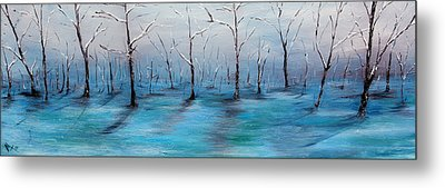 Frost Like Ashes Metal Print by Meaghan Troup