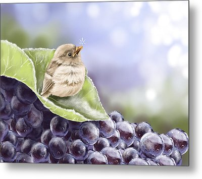 Frost Metal Print by Veronica Minozzi