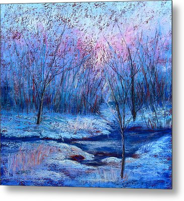 Frosty Morning Metal Print by Christine Bass