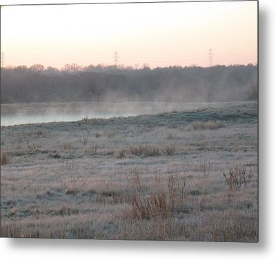 Frosty Morning Metal Print by Rosalie Klidies