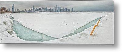 Frozen Chicago Metal Print
