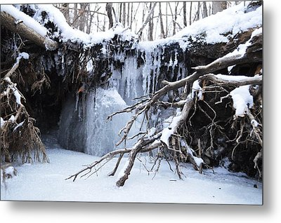 Frozen Creek Metal Print