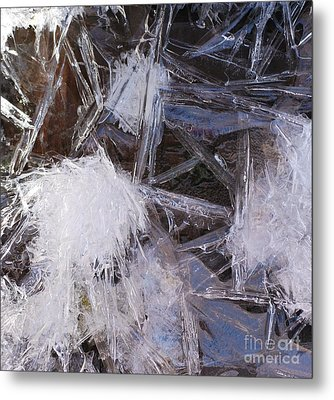Frozen In Geometry Metal Print by Kenna Hillman