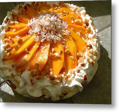 Frozen Molokai Mango Mele Pie Metal Print