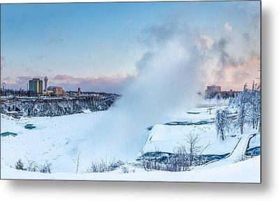 Frozen Niagara N1 Metal Print