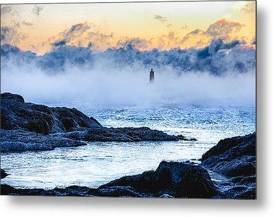 Frozen Tide Metal Print by Robert Clifford