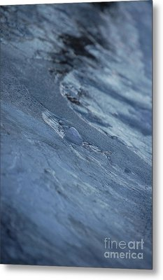 Metal Print featuring the photograph Frozen Wave by First Star Art