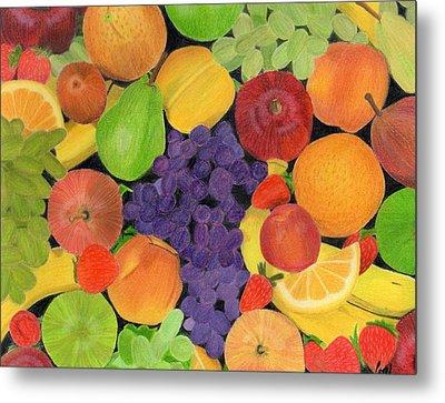 Fruit Metal Print by Bav Patel
