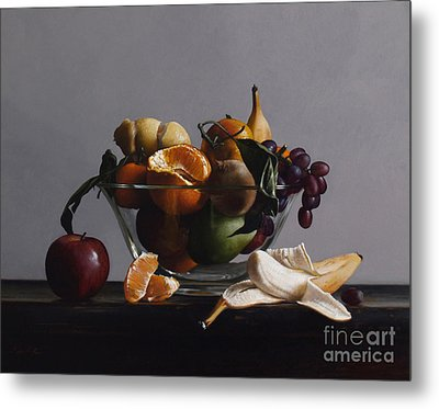 Fruit Bowl No.2 Metal Print by Larry Preston