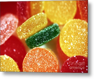 Fruit Candy Metal Print by John Rizzuto