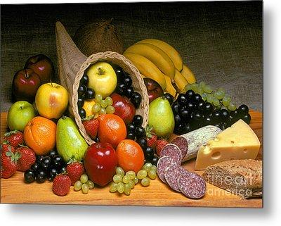 Fruit Cornucopia  Metal Print by Craig Lovell