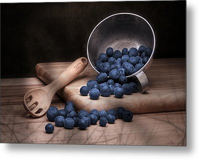Fruit Cup Still Life Metal Print by Tom Mc Nemar
