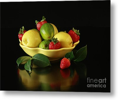Fruit Explosion Metal Print by Inspired Nature Photography Fine Art Photography