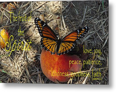 Fruit Of The Spirit Metal Print by Robyn Stacey