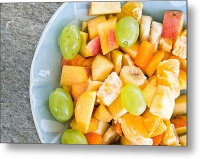 Fruit Salad Metal Print by Tom Gowanlock
