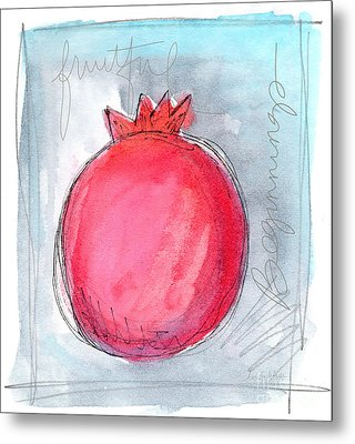 Fruitful Beginning Metal Print by Linda Woods