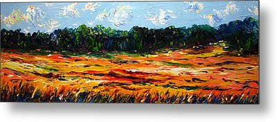 Metal Print featuring the painting Fruition by Meaghan Troup