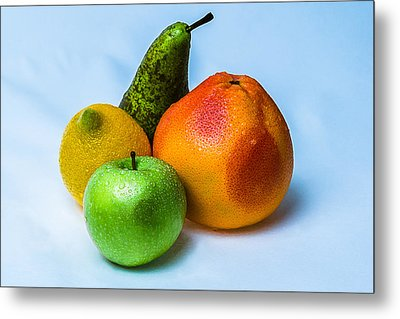 Fruits Metal Print by Alexander Senin